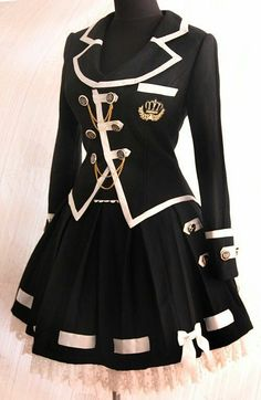 Cosplay Dress, Cosplay Outfits, Edgy Outfits, Mode Outfits, Cute Casual Outfits, Pretty Outfits, Pretty Dresses, Scene Outfits, Kawaii Fashion