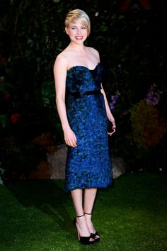 MIchelle Williams in #Burberry at the Oz The Great And Powerful London Premiere.
