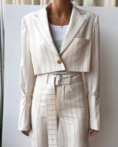 oss Lady Lana in Orseund Suiting 💅? Look Fashion, Fashion Details, Girl Fashion, Fashion Outfits, Womens Fashion, Fashion Design, Aesthetic Fashion, Dress Outfits, Vetements Clothing
