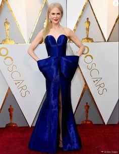 cad9bc5a8 Vestido de laço de Nicole Kidman no Oscar 2018 ganha elogios   Melhor  figurino