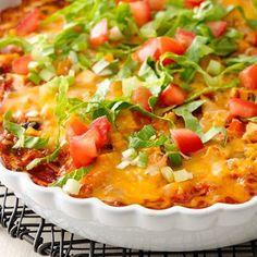 Skinny Mexican Chicken Casserole -  Key Ingredient