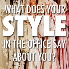 Professional style tips for young women. Great article!