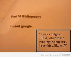 Bibliography Wrong