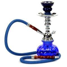 Hookah 1 Hose Set Black Glass Vase Tobacco Bong Smoking Water Pipe Shisha Smoke for sale online
