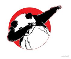 Panda Dab Dance Style