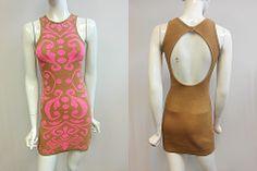 BAROQUE JACQUARD DRESS/ MADE IN USA/ MDLN