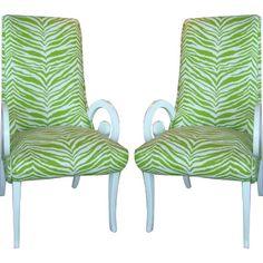 Restored Palm Beach Regency Chairs