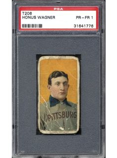 This T-206 Honus Wagner card is on Alicia's wish list.  Any benefactors are welcome to contact us.  :)