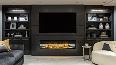 Built In Wall Units, Flat Screen, The Unit, Building, Furniture, Home Decor, Blood Plasma, Decoration Home, Room Decor