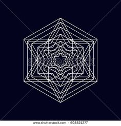 Geometric element, symbol, vector illustrarion eps 10.