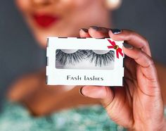 Meet the first African makeup artist in Ukraine to sell her branded eye-lashes - Gemssblog