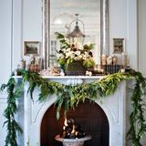 Are you behind in your decorating this year? This is a definitive look at holiday mantels, in every style of decor possible, from organic to modern to rustic to simple to industrial. You get the idea. Hopefully it provides inspiration (and holiday cheer!) as you do your (late) holiday decorating.