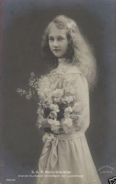 Daughters of Grand Duke Wilhelm of Luxembourg-Princess Marie Adelheid