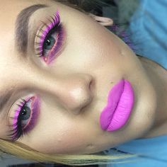 Queen Supreme by Jeffree Star on lips and eyes!