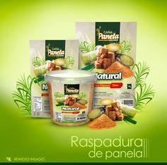 Azúcar Granulada (Raspadura de panela) on Behance