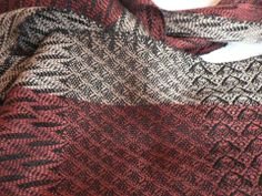 16 Shaft Sample Scarves by Jo-Anne Swain