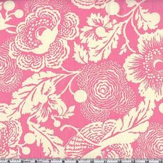 Amy Butler Midwest Modern Fresh Poppies Rose - this site has lots of cute fabrics under the retro & mod prints link ;)