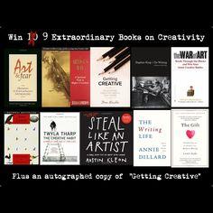 Win 9.5 Extraordinary Books on Creativity