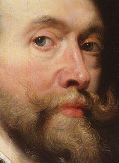 Self-portrait - Detail Peter Paul Rubens 1623 oil on panel 85.7 × 62.2 cm Windsor/London, Royal Collection.