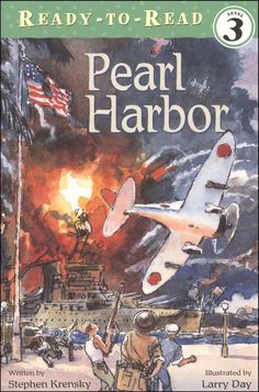 """Pearl Harbor : Ready To Read Level 3 by Stephen Krensky, """"Bringing a dramatic moment of World War II to vivid life, author Stephen Krensky answers questions about the historic importance of the military action at Pearl Harbor. Earth Drawings, Cool Drawings, Pearl Harbor Pictures, Plane Drawing, Pulp Fiction Book, Pearl Harbor Attack, Artist Alley, Thing 1, History Books"""