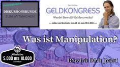 #Geldkongress #Diskussion #Gespräch #Debatte #Austausch #Redner #Speaker Was ist #Manipulation – Philosophische #Gesprächsrunde im Rahmen des #Online-Geldkongresses