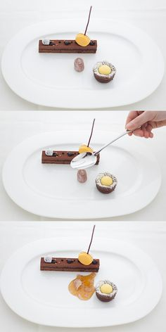 A Trio of Chocolate Desserts I The Bocuse Restaurant at The Culinary Institute of America