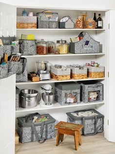 Offering storage solutions for your kitchen or any room in your home