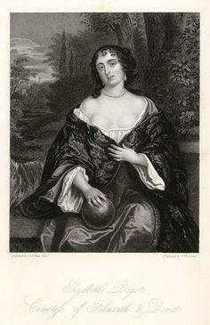 Elizabeth Bagot, Countess of Falmouth and Dorset, published 1851.