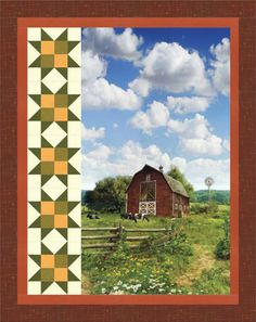 American Byways - Pastoral Retreat Free Quilt Pattern