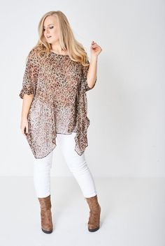 Lagenlook Plus Size Sheer Kimono Top Tunic Cover Up Floral Patterned Chiffon NEW Floral Chiffon, Kaftan, Size Clothing, Plus Size Outfits, White Jeans, Kimono Top, Cover Up, Tunic Tops, Pants
