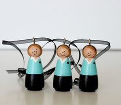 FOUR Custom LDS Missionary Ornaments by minimoments on Etsy