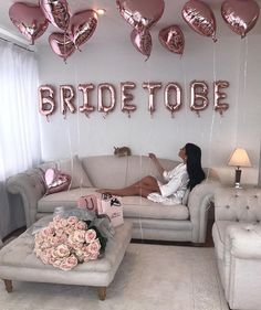 Items similar to Bride to be Balloon - 3 colors (Rose Gold - Gold - Silver) - Bridal Shower - Bachelorette party - Hen do - Bridal party - Bride to be party on Etsy Bachlorette Party, Bachelorette Party Decorations, Bridal Shower Decorations, Wedding Decorations, Bachelorette Parties, Bachelorette Weekend, Hens Night Decorations, Bridal Room Decor, Bridal Parties