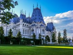 Iasi, Romania , the Palace of Culture Romanian Castles, Visit Romania, Beautiful Places To Visit, Beautiful Architecture, Eastern Europe, Places To Go, Albania, Around The Worlds, Mansions