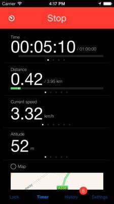 计数在Kinetic GPS