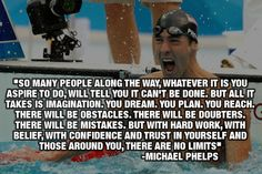 Michael Phelps, legendary swimmer