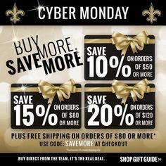 Saints Cyber Monday