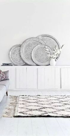 Great way to display platters!