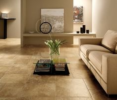 Laredo Walnut Wall And Floor Tiles, Ceiling Medallions, Porcelain Tile, Hardwood, Couch, Flooring, Table, Furniture, Design