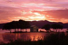 滋賀県 Celestial, Mountains, Sunset, Nature, Travel, Outdoor, Outdoors, Naturaleza, Viajes