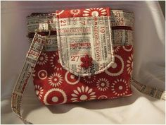 Bolsa tiracolo de patchwork- PAP