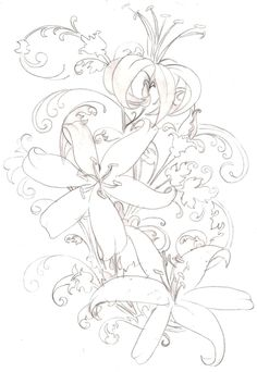 princess tiger lily coloring pages - photo#45