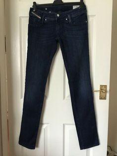 b0a3fd49 LADIES DIESEL INDUSTRY JEANS DIESEL MATIC SIZE 10 DARK BLUE. C364 #fashion # clothing