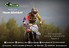 Rizky H K SERIES 4 (JULY, 08th – 09th 2017) 2017 Grasstrack National Championship Region 2 CIRCUIT YONIF 312 KALA HITAM. SUBANG, WEST JAVA, Indonesia  #xtremerated #xclub #grasstrack #indonesia