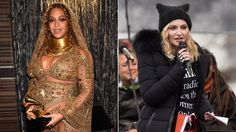 """Beyonce Madonna Coldplay Pen Letter for International Women's Day  Beyoncé Madonna and Coldplay are among the artists to sign an open letter marking International Women's Day on this """"critical moment in history."""""""