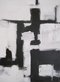 graphic painting modern black and white - Google Search
