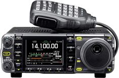 Icom IC-7000 HF Amateur Radio Transceiver. My current station.