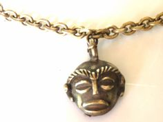 Tribal Bracelet  African Charm Bracelet  Gold by KarynJamieDesigns