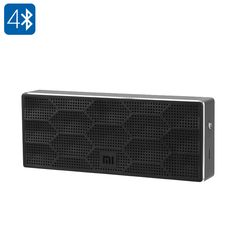 Xiaomi Mi Bluetooth Speaker - 1200mAh, 10 Meter Bluetooth Range, Bluetooth 4.0, 2x 2.5W, 80dB (Black) - The Xiaomi Bluetooth Speaker is one of the best outdoor Bluetooth speakers out there, allowing you to listen to your favorite songs anywhere you go.