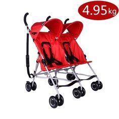 Super Light Strollers for Twins,Folding Baby Strollers for Twins,Double Stroller China Pushchair Lightweight Umbrella Stroller