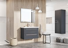 Kwadro Plus Collection na tablicy Bathroom Furniture. Meble Łazienkowe Bathroom Lighting, Vanity, Mirror, Furniture, Design, Home Decor, Products, Bathroom Light Fittings, Dressing Tables